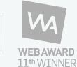 WEB AWARD 11th WINNER